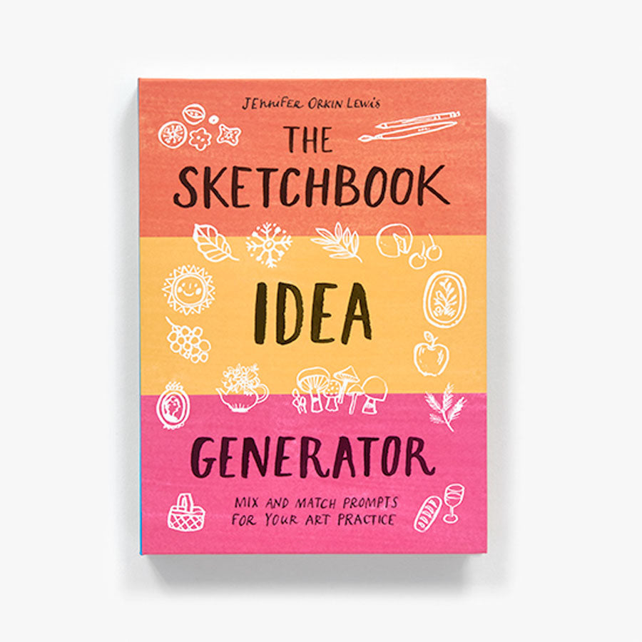 Sketchbook Idea Generator Book