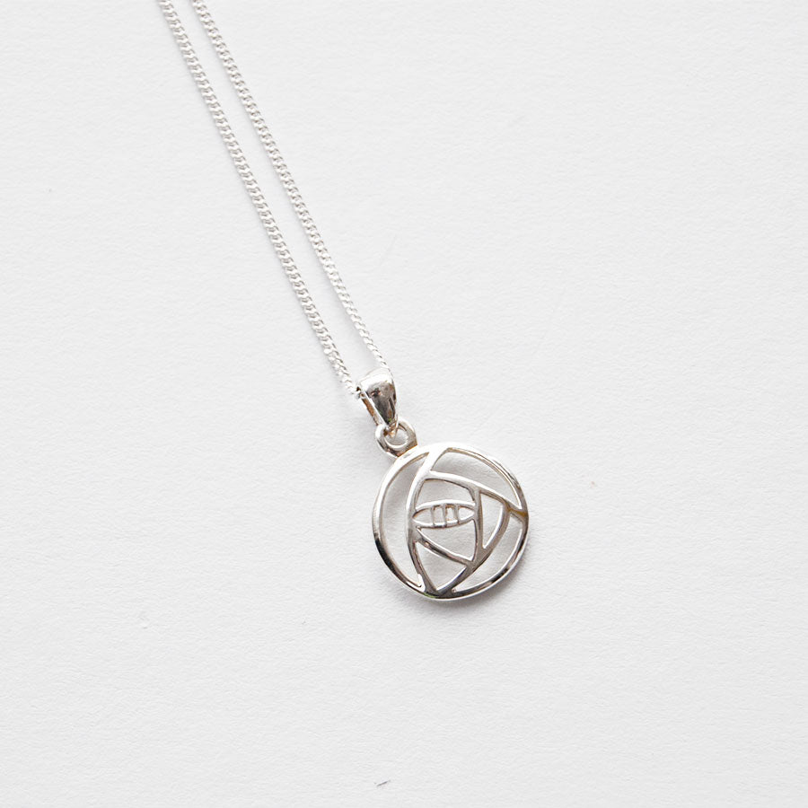 Mackintosh-Rose-Cut-Out-Silver-Pendant-Necklace