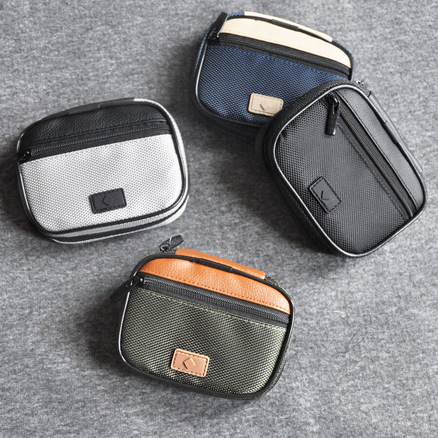 Men's Travel Pill Box with Case