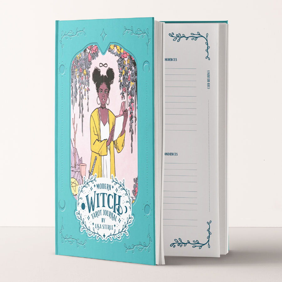 Modern Witch Tarot Journal Book
