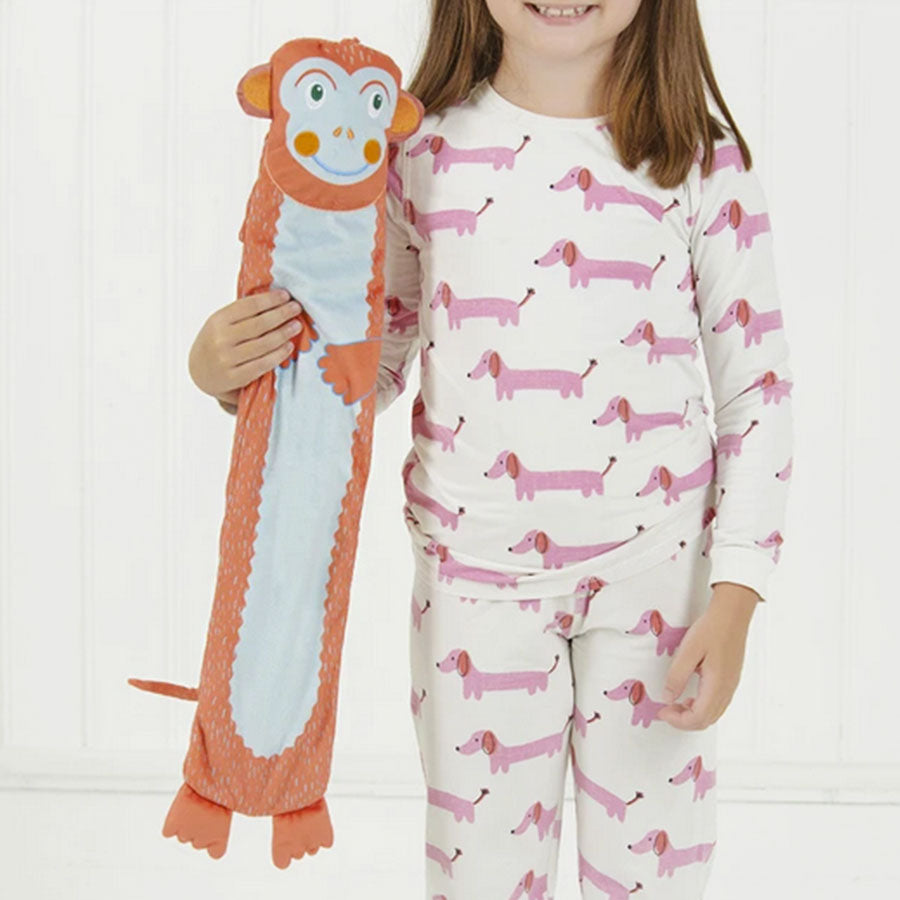 Kids Long Monkey Hot Water Bottle