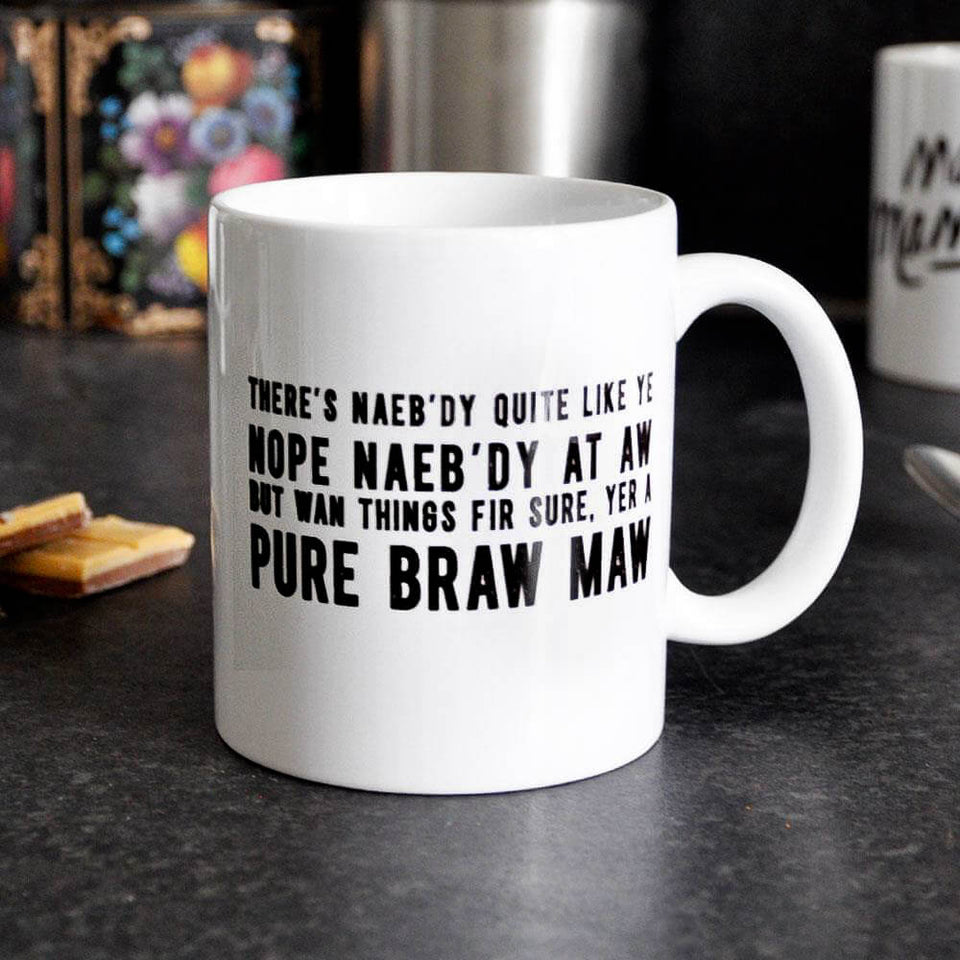 Maw Poem Ceramic Mug