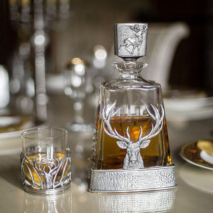 Stag Pyramid Decanter