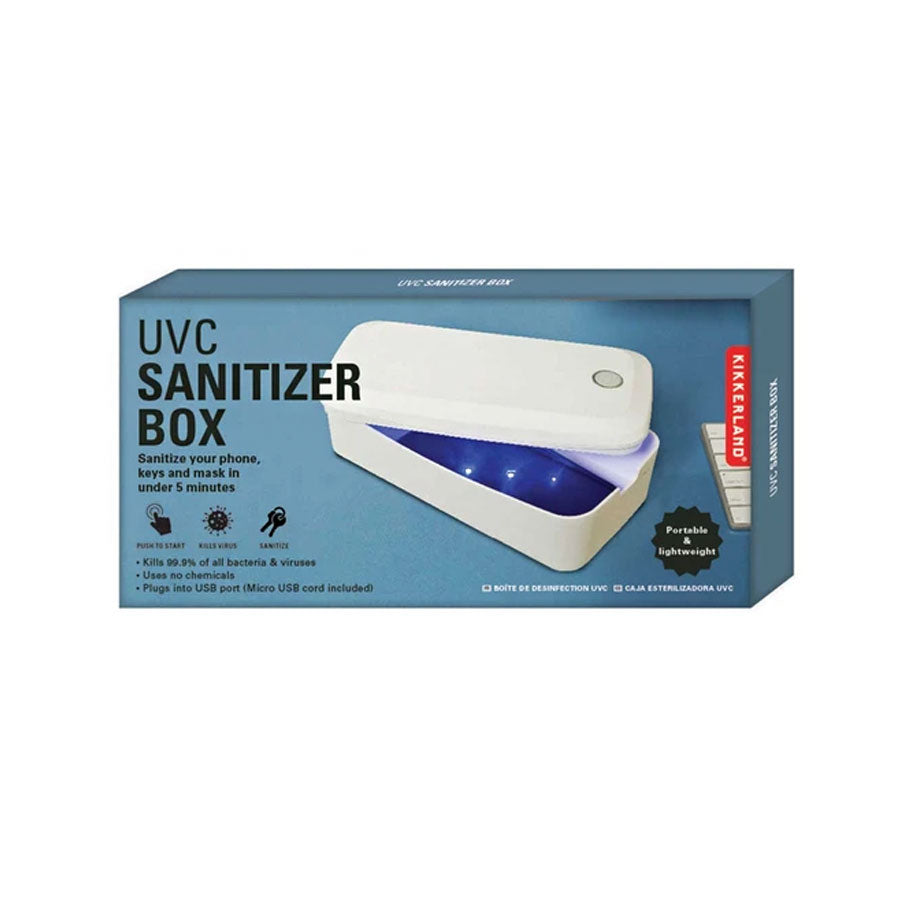 Portable Sanitiser Box with UVC Light