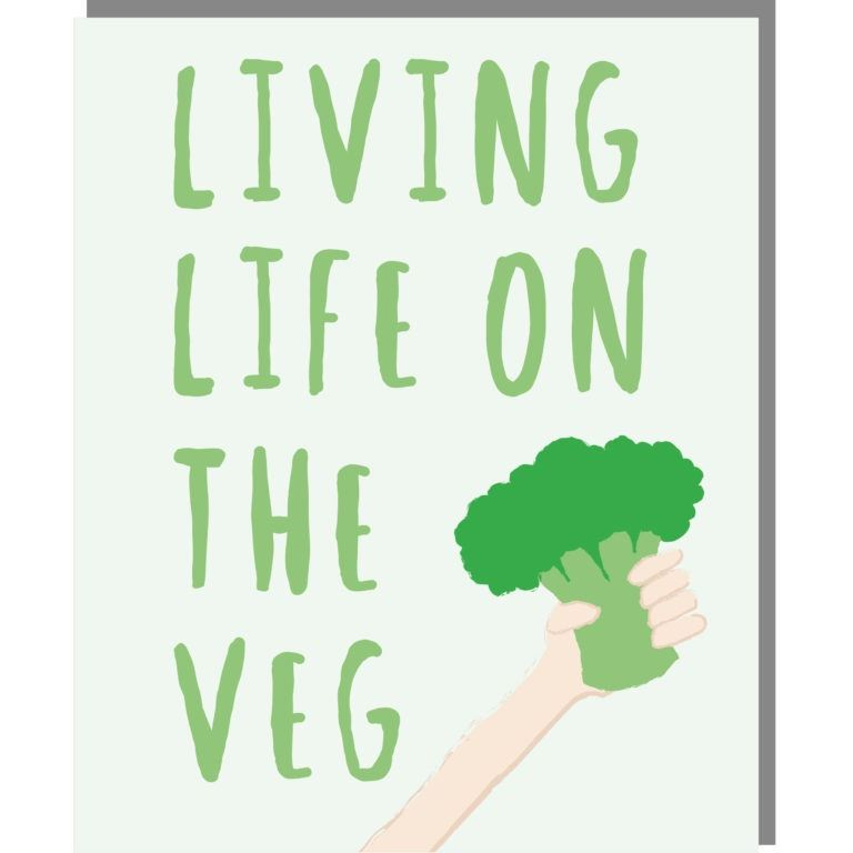 Living Life On The Veg Card
