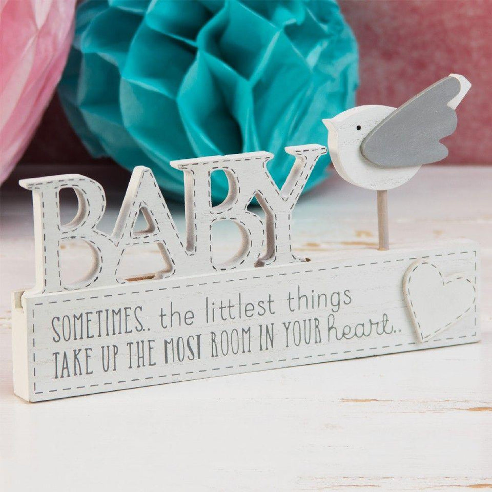 Petit Cheri Baby Bird Mantel Plaque
