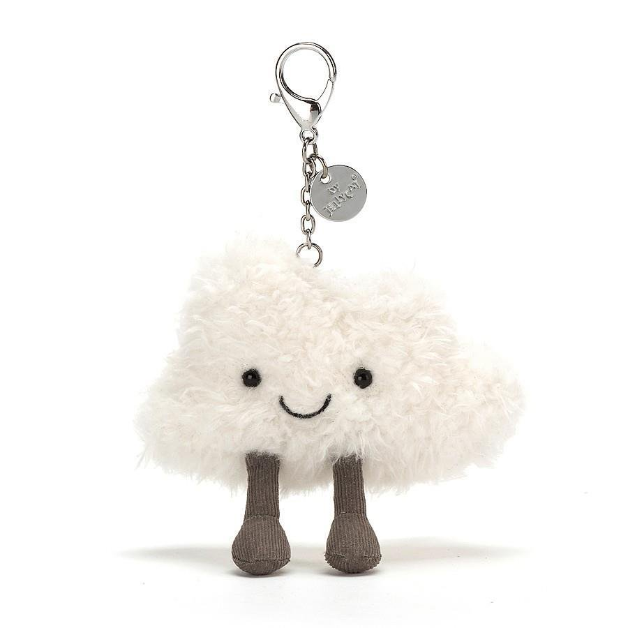 Cloud Plush Bag Charm