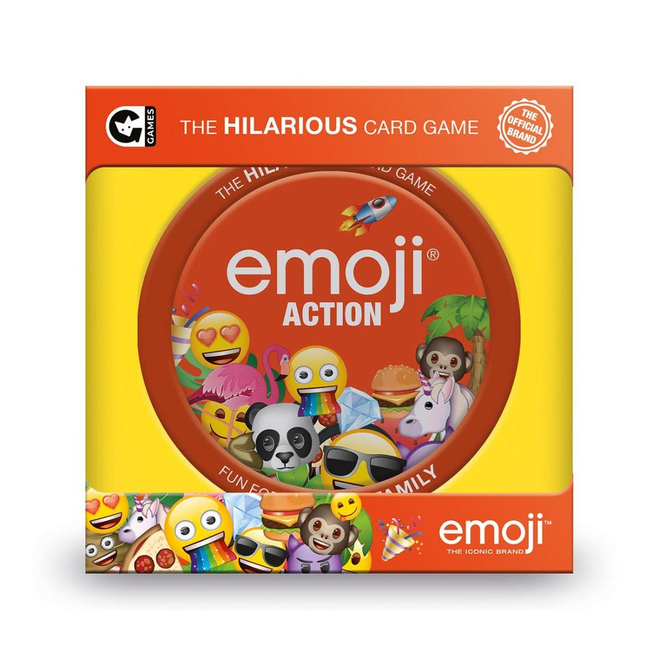 Emoji Action Card Game