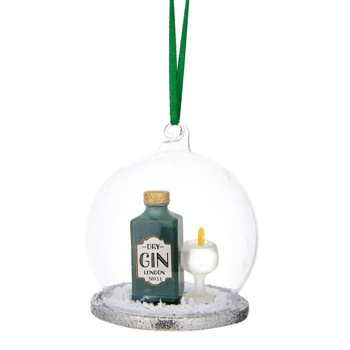 Gin and Tonic Dome Bauble