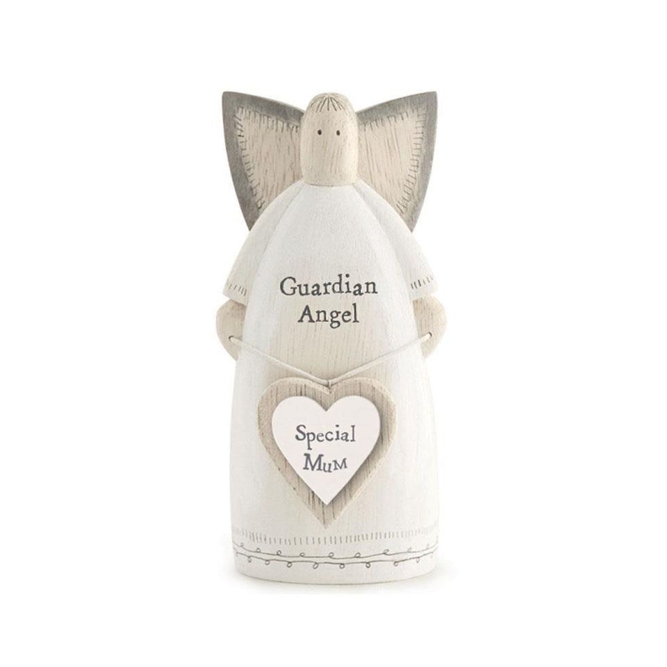 Special Mum Guardian Angel Wooden Decoration