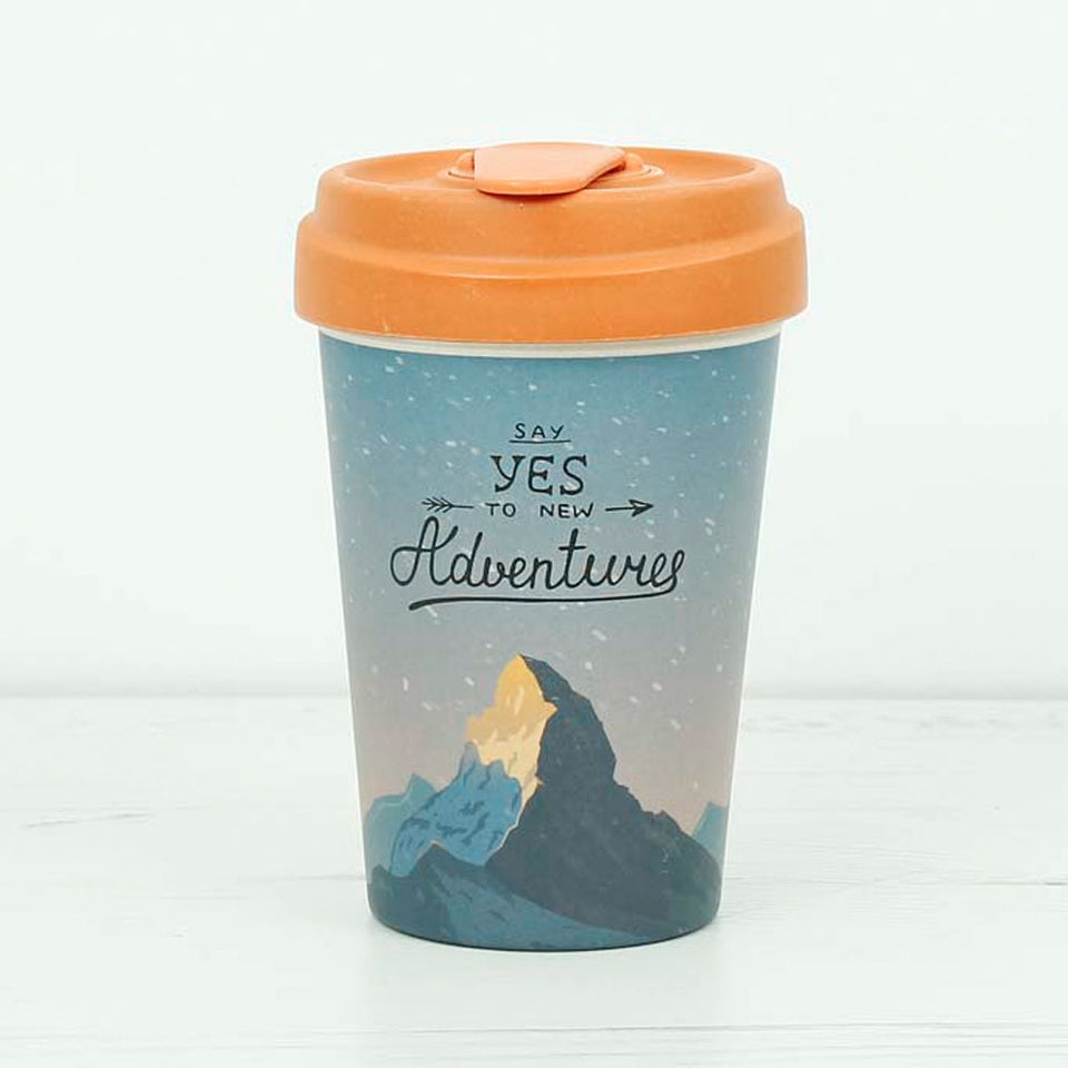 Mountain Adventure Bamboo Travel Cup