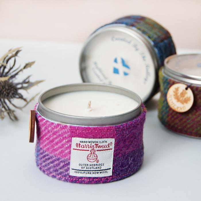 Highland Heather Candle in Tin
