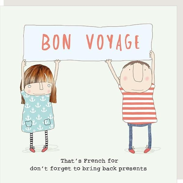 Bon Voyage Presents Card