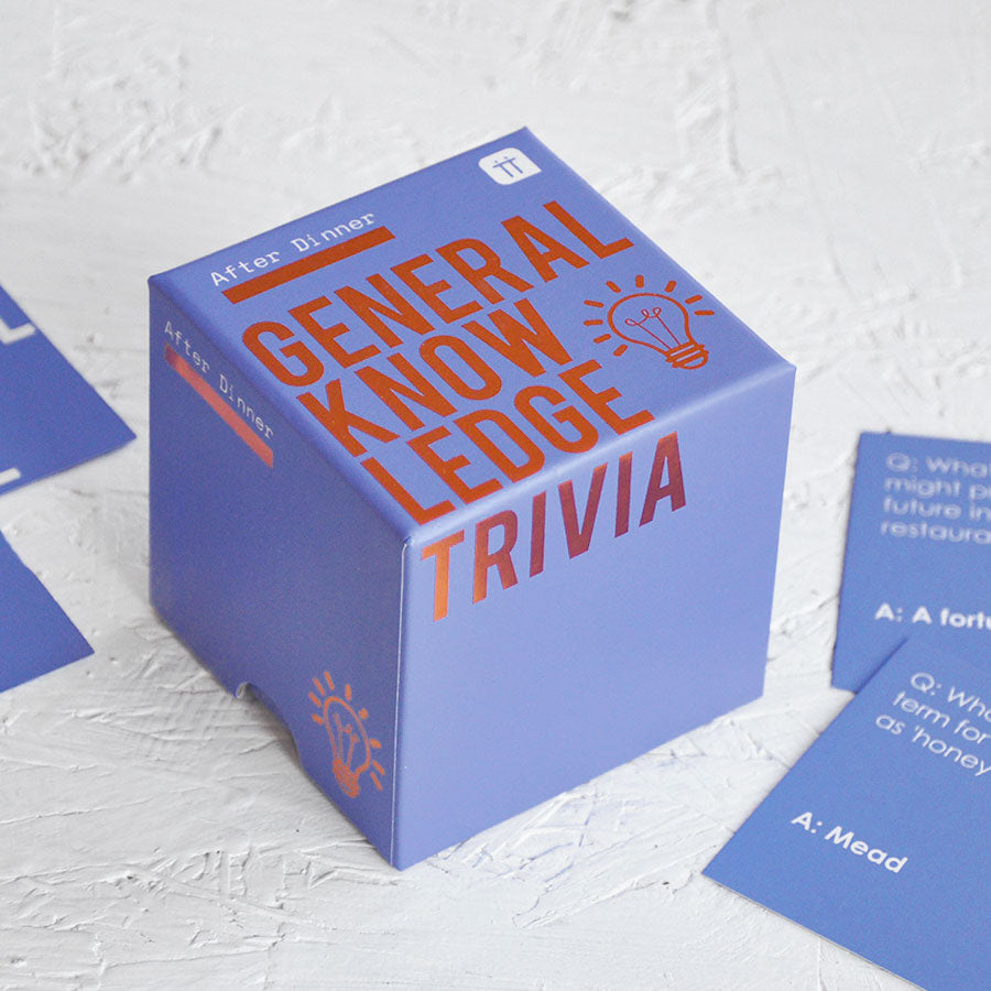 After Dinner General Knowledge Trivia