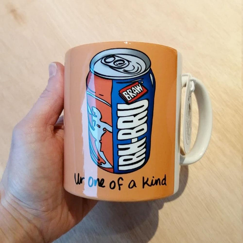 Irn Bru One of a Kind Mug
