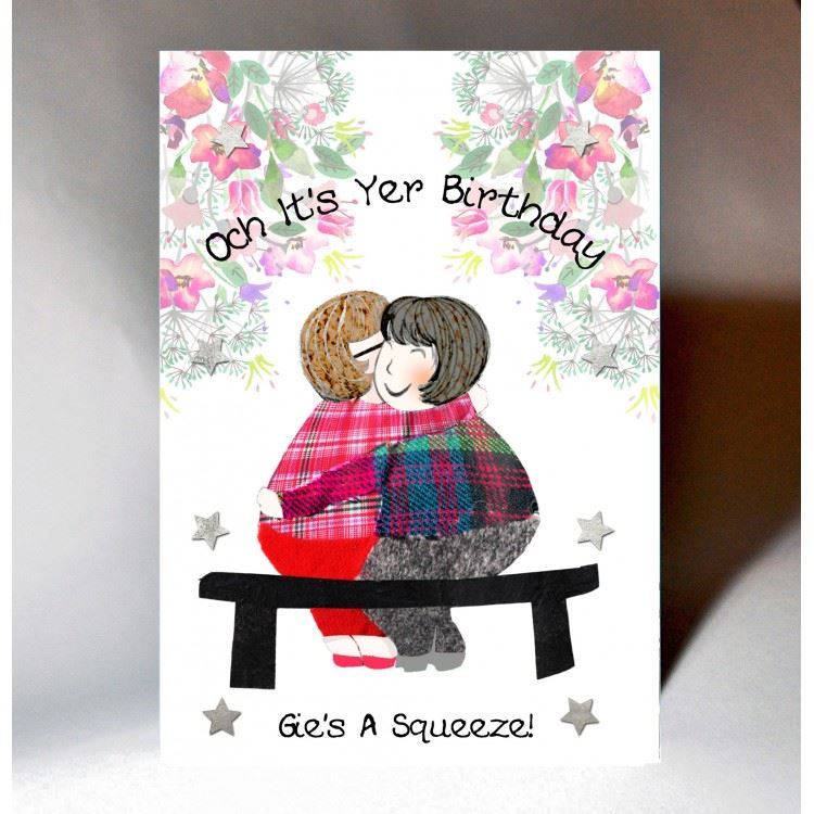 Gies A Squeeze Birthday Card