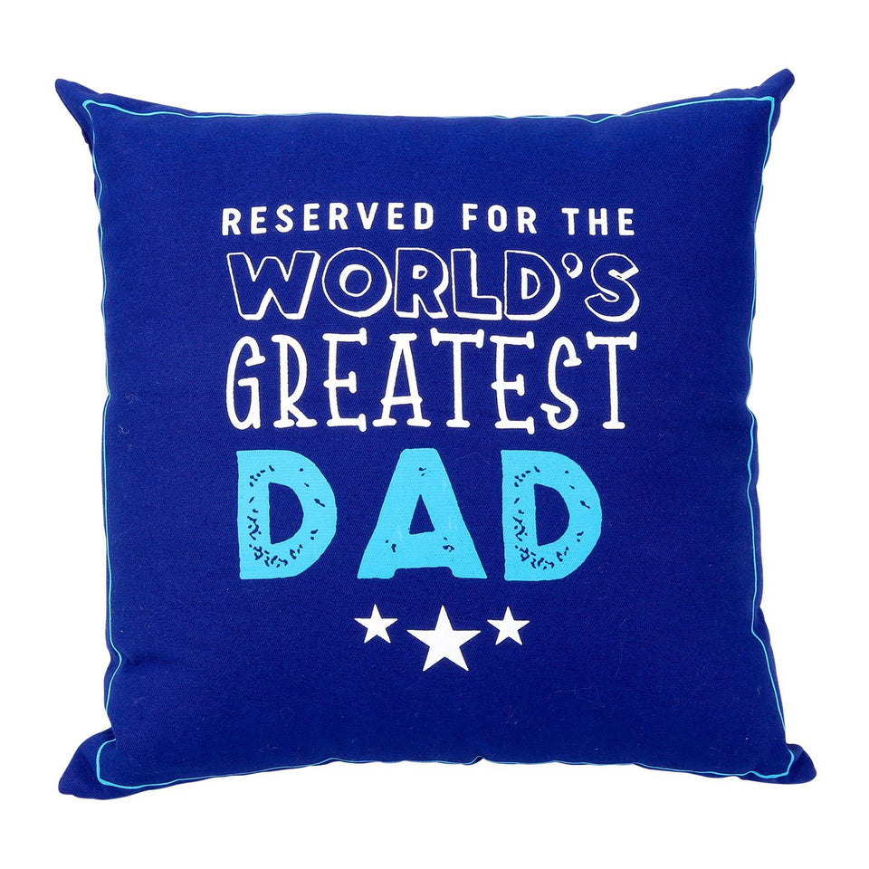 Reserved For Worlds Greatest Dad Cushion