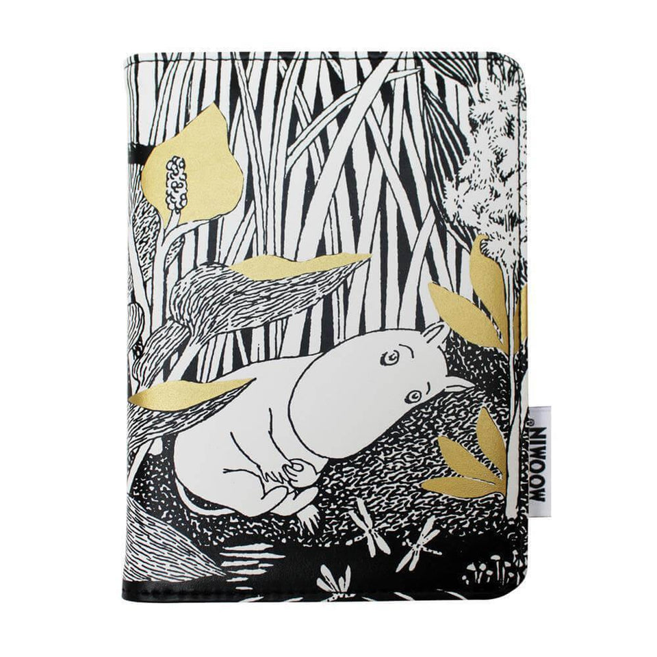 Moomin Midwinter Print Passport Holder