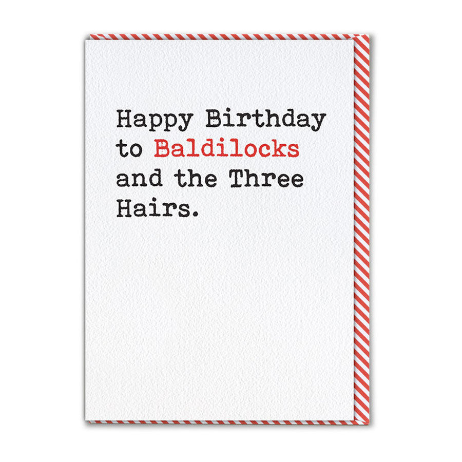 Baldilocks Card