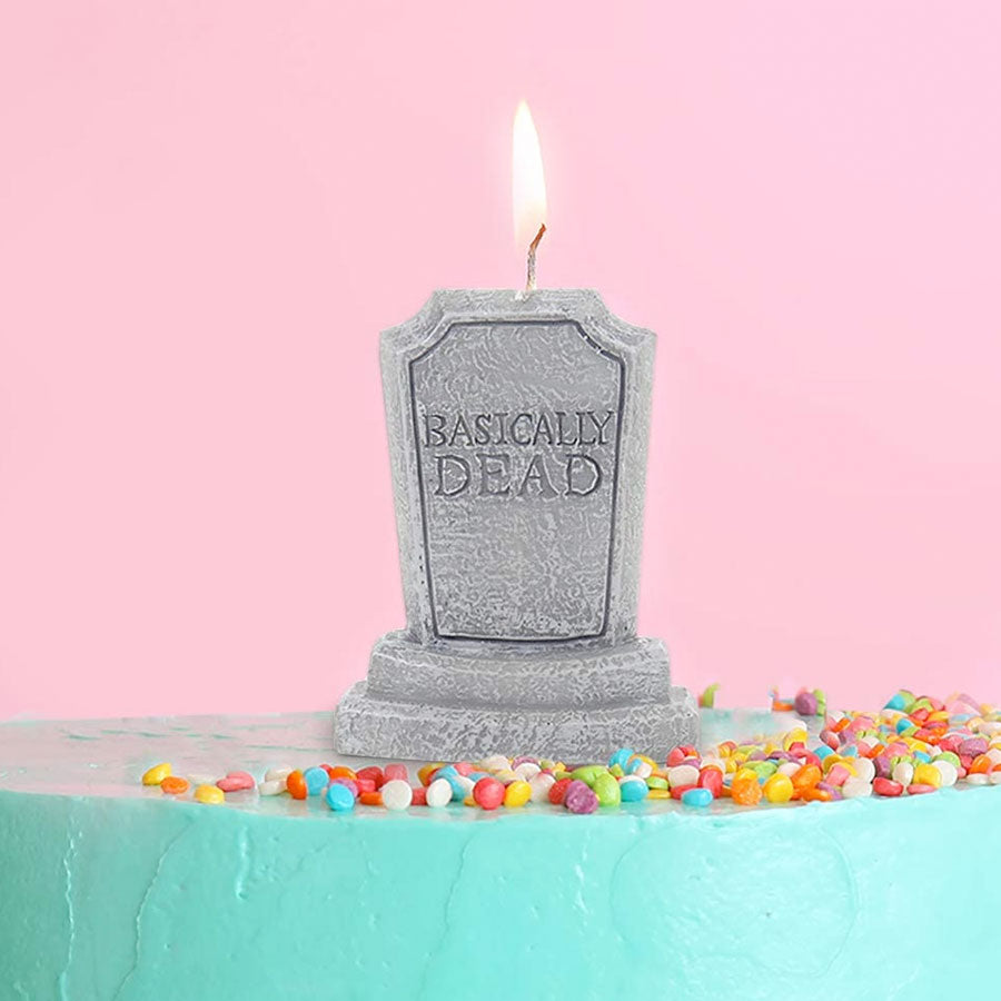 Basically Dead Birthday Candle