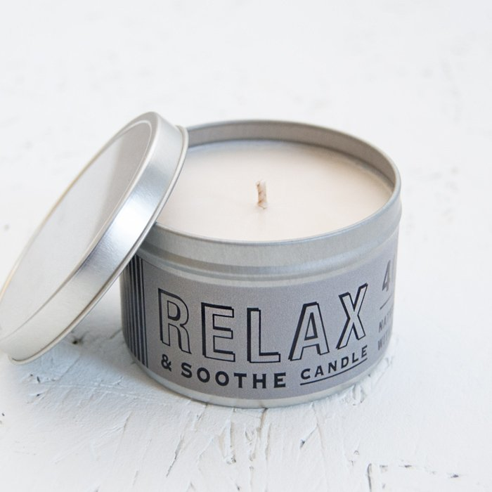 Men's Citrus Natural Wax Candle