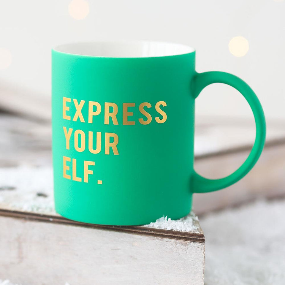 Express Your Elf Mug