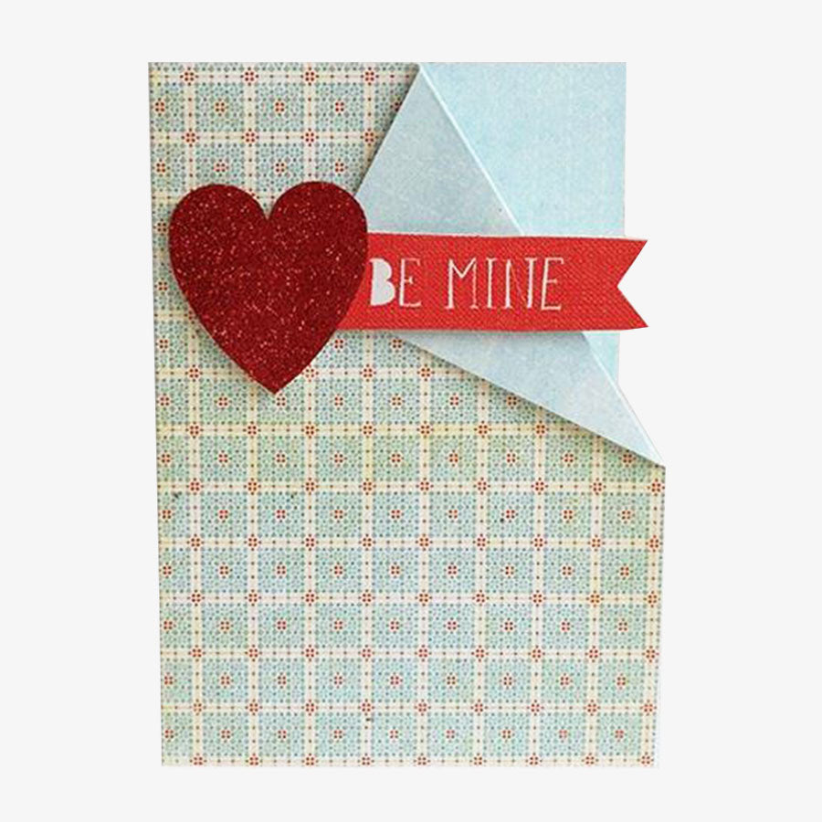 Be Mine Greetings Card