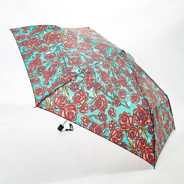 Green Rose Mini Umbrella