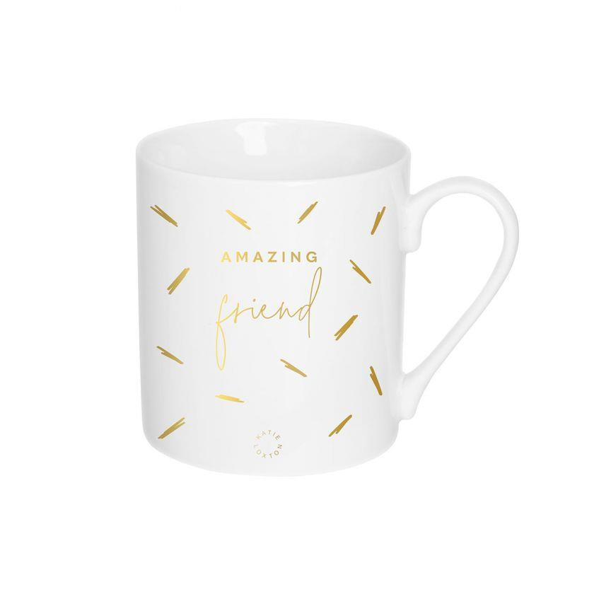 Amazing Friend Gold Foiled Mug