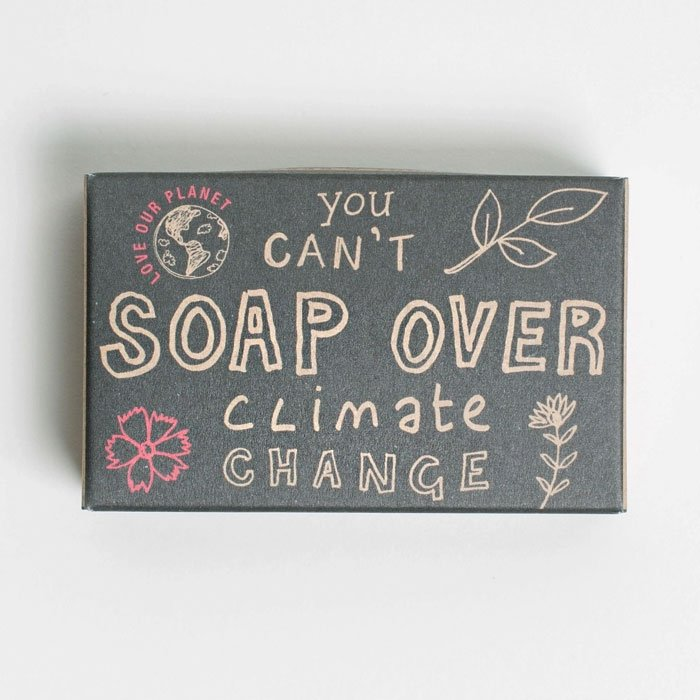 Barefoot Soap Over Soap Bar