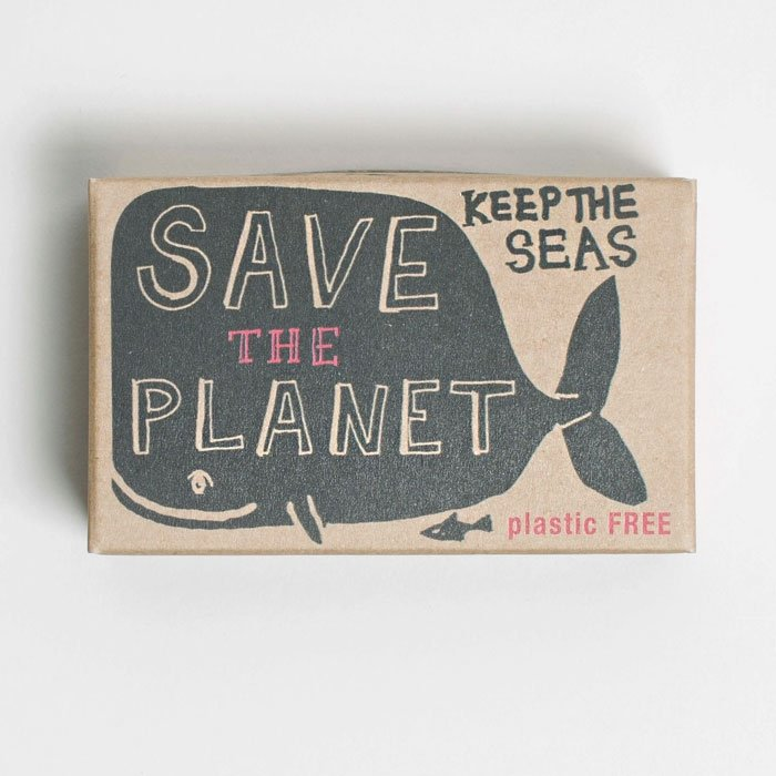 Barefoot Whale Earth Soap Bar