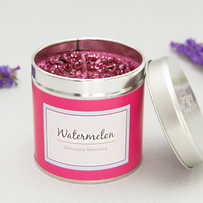 Scented Candle Tin | Watermelon