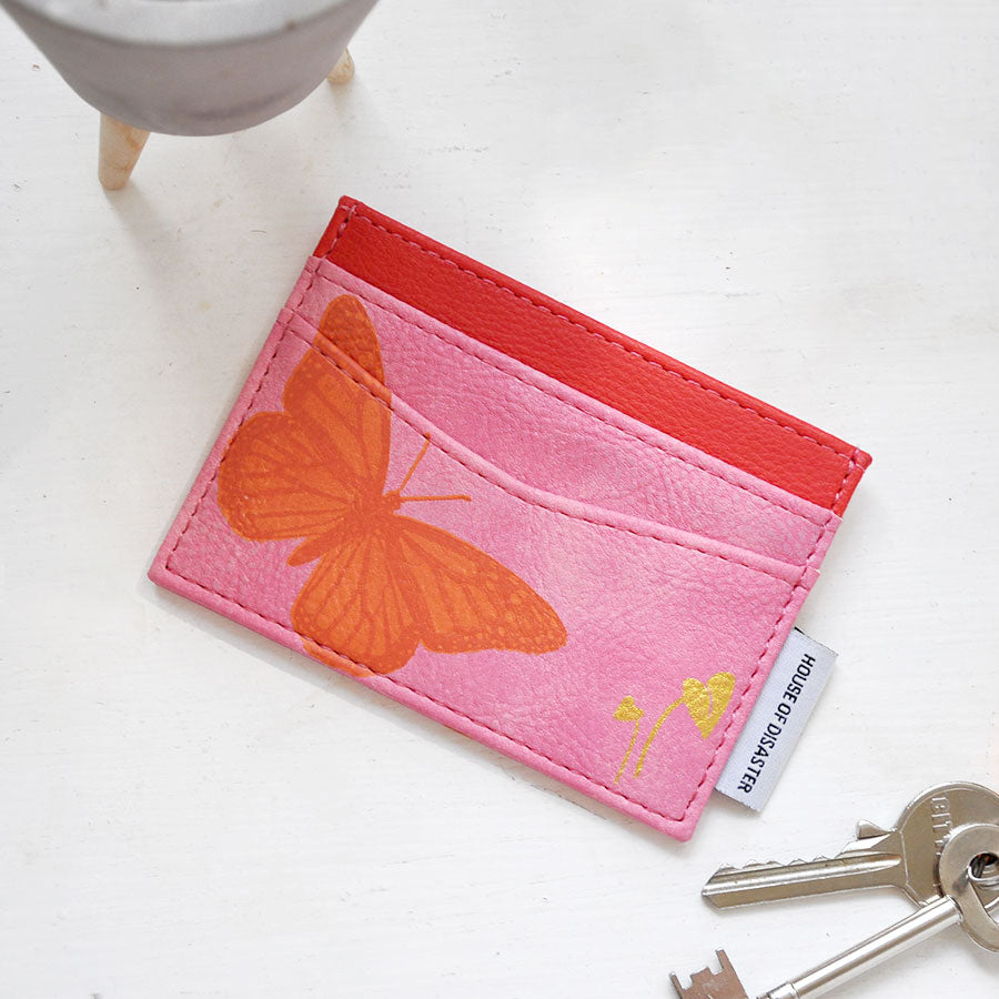 Heritage and Harlequin Butterfly Card Holder