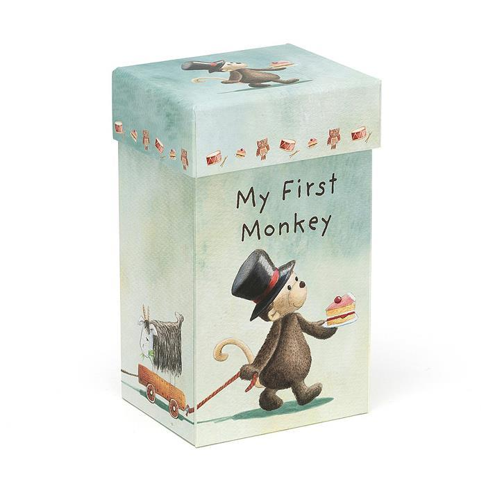 My First Monkey Boxed Soft Toy