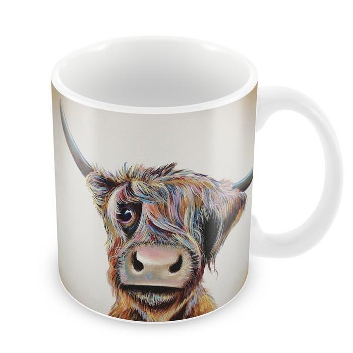 Bad Hair Day Highland Cow Mug