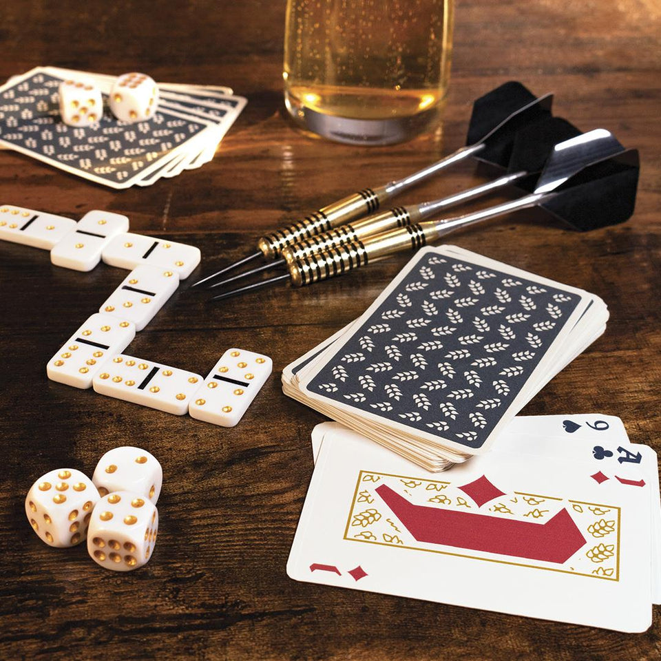 Bar Games Set in Beer Can