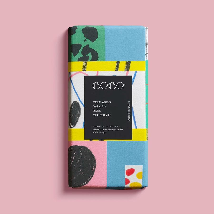 Colombian Dark Chocolate Bar