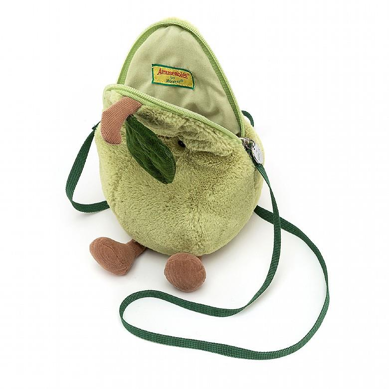 Amuseable Pear Plush Bag