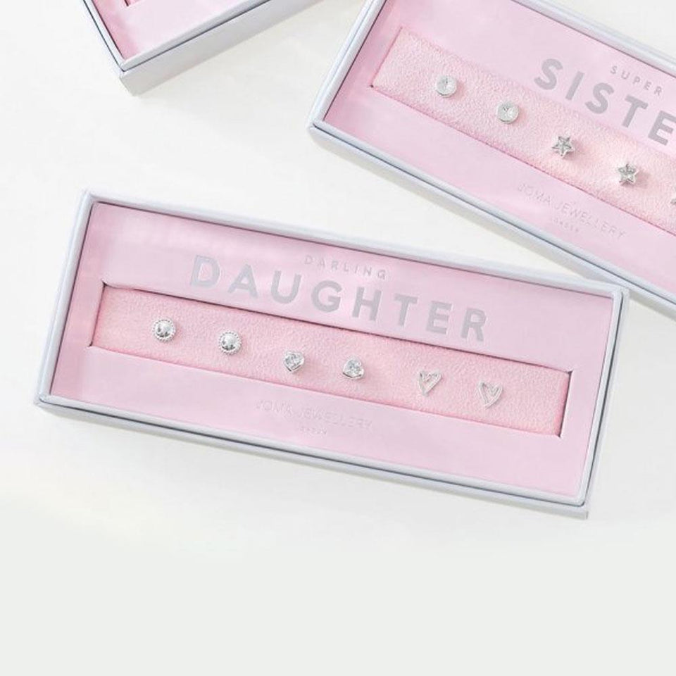 Darling Daughter Occasion Earring Box Set