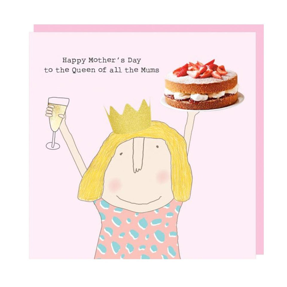 Mother's Day Queen of Mums Card