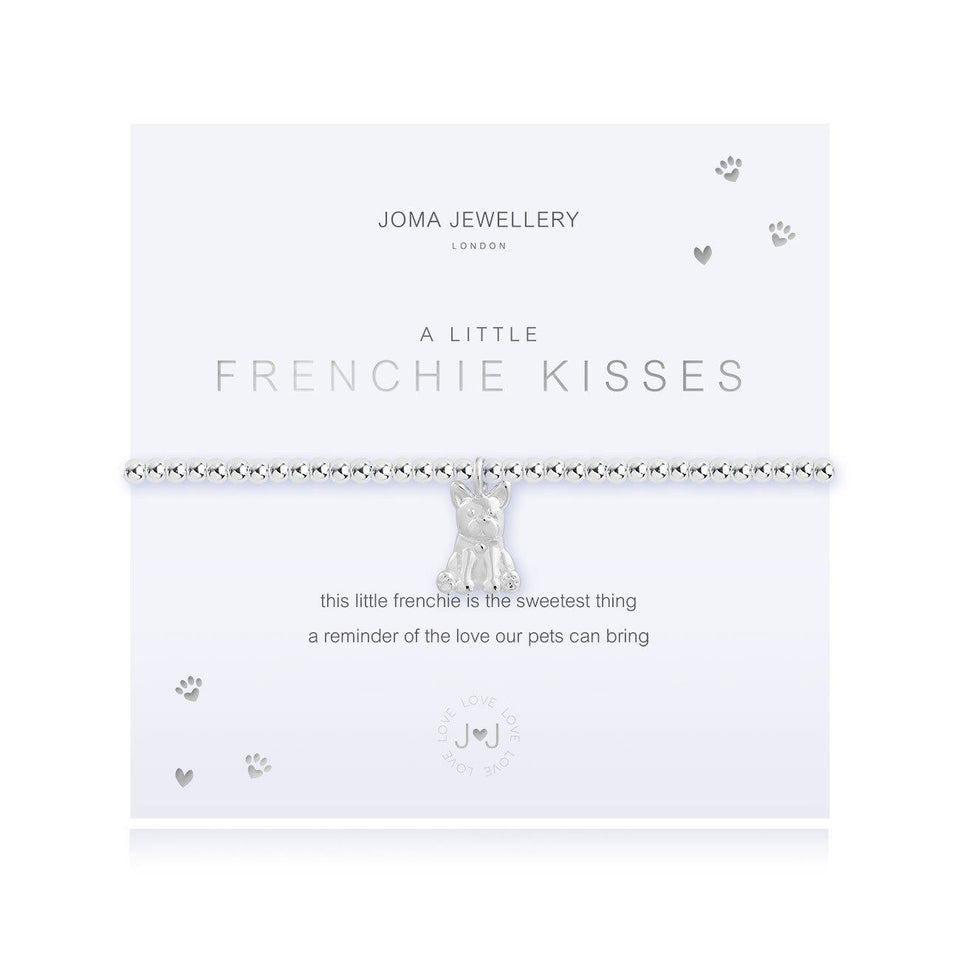 A Little Frenchie Kisses Charm Bracelet