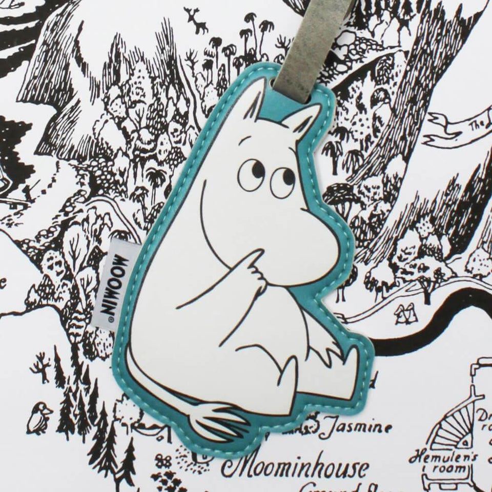 Moomin Shaped Luggage Tag