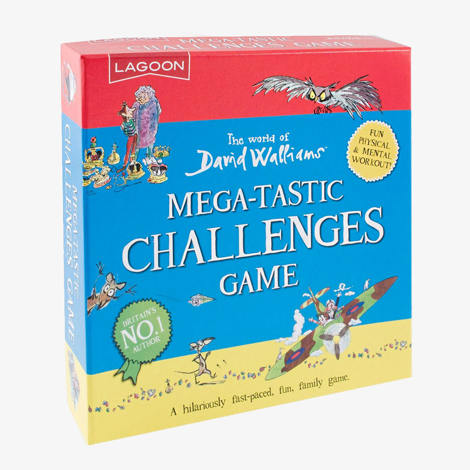 David Walliams Mega-Tastic Challanges Game