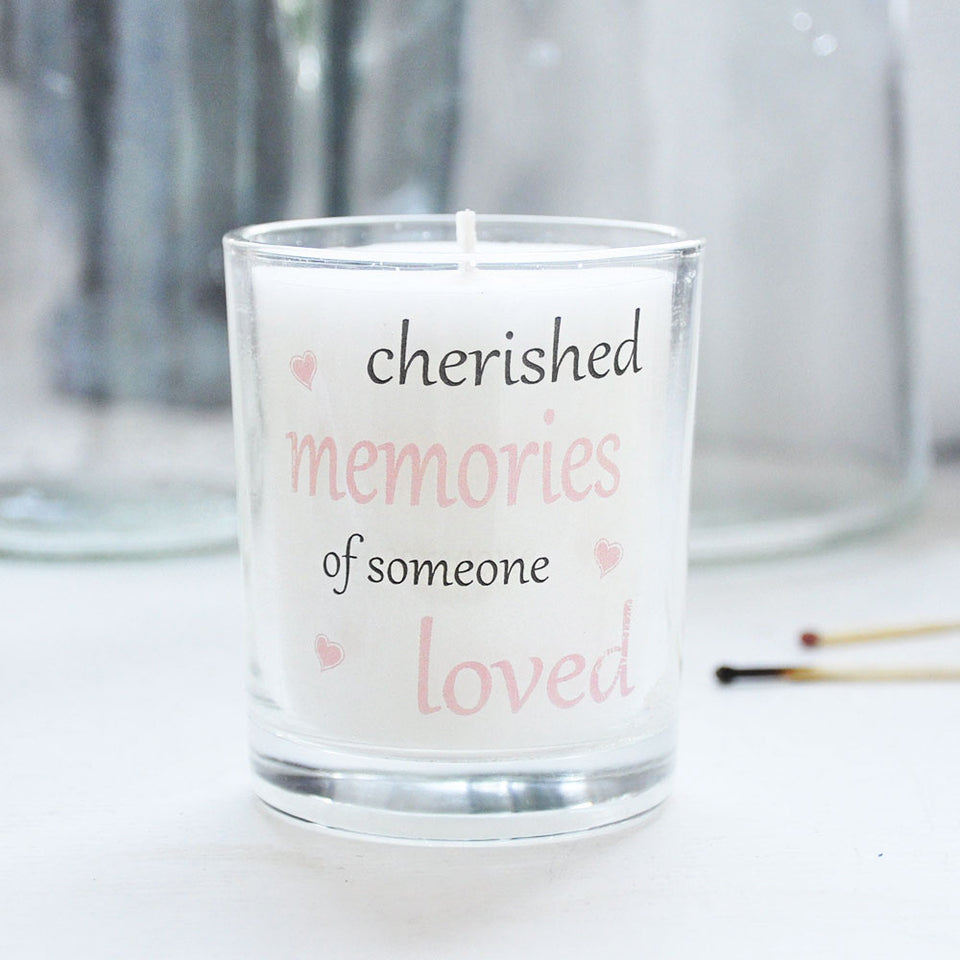Cherished Memories Votive Candle