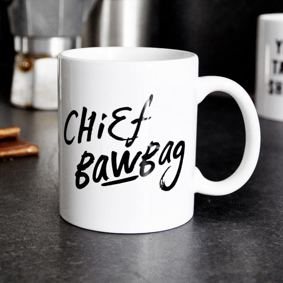 Chief Bawbag Mug