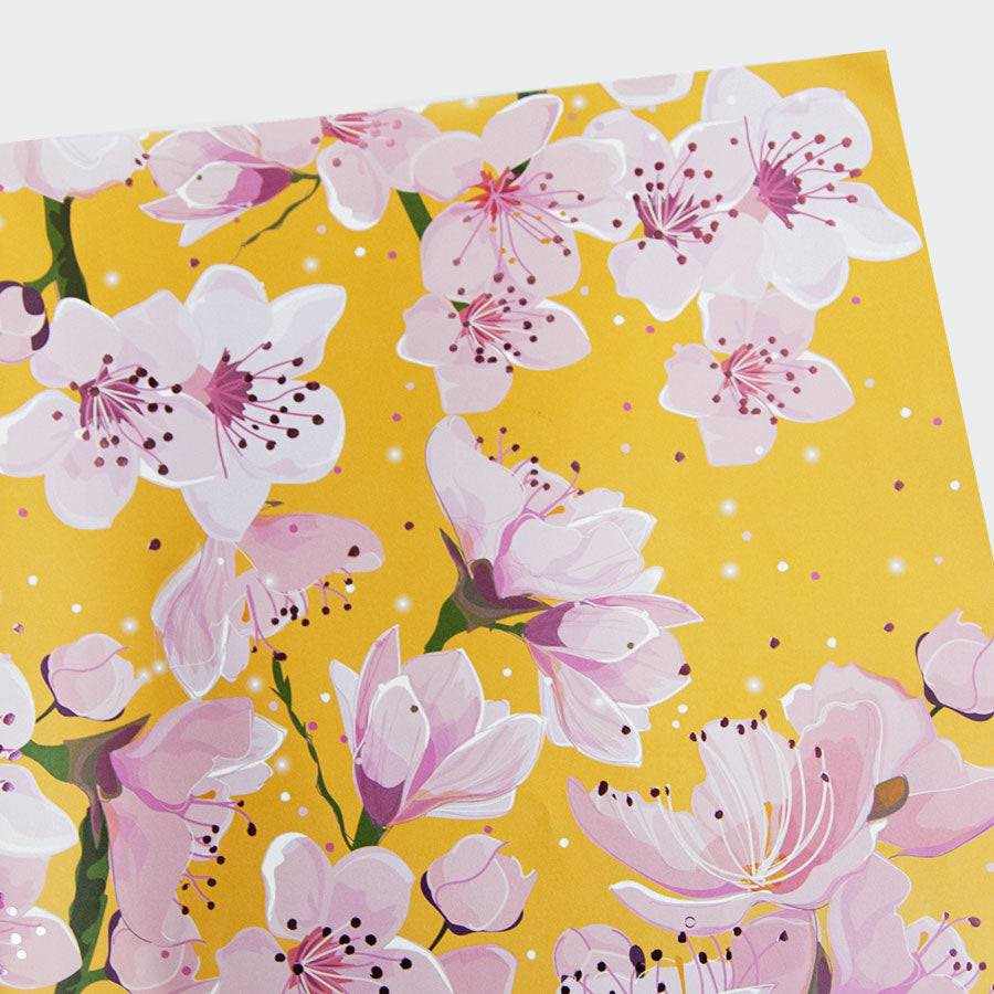 Coco Blossom Flat Gift Wrap