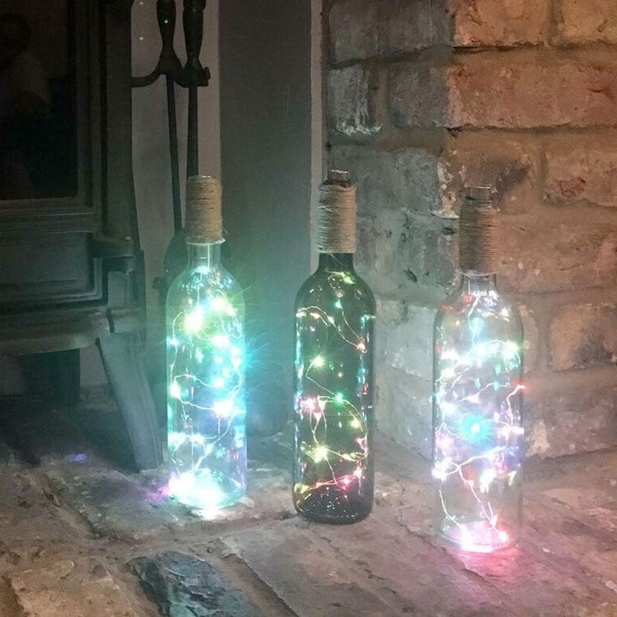 Multicoloured Party Bottle LED Light Kit