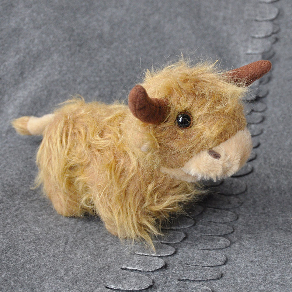 Mooing Highland Cow Soft Toy