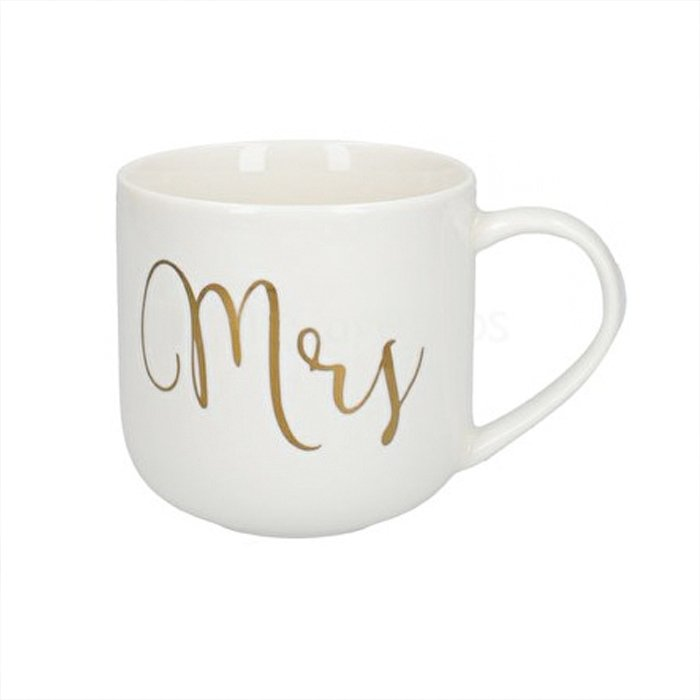 Ava And I Mrs Curved Mug