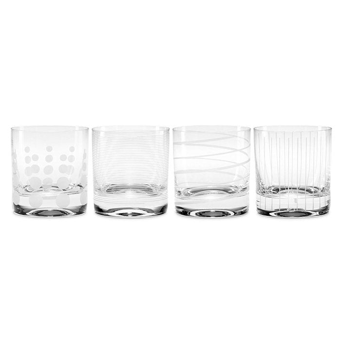 Cheers Double Old Fashioned Glasses | Set of 4